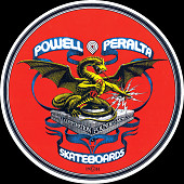 Powell Peralta Banner Dragon Sticker (Single)
