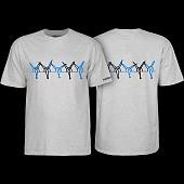 Powell Peralta Vato Rat Band Gray T-Shirt
