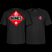 Powell Peralta Flamable Black T-shirt