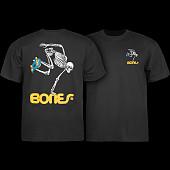 Powell Peralta Skateboarding Skeleton Youth T-shirt Black
