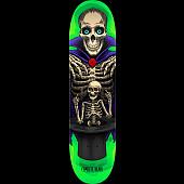 Powell Peralta Pro Charlie Blair Magician Skateboard Deck Green - Shape 242 - 8 x 31.45