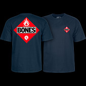 Powell Peralta Flamable Navy T-shirt