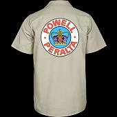 Powell Peralta Supreme Work Shirt - Khaki