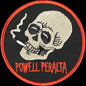 Powell Peralta Smoking Skull Patch Single