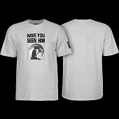 Powell Peralta Animal Chin T-Shirt Gray