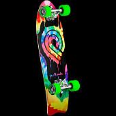 Powell Peralta PPP Tie Dye Cruiser 276 Skateboard Assembly - 8.6 x 27.74