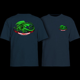 Powell Peralta Oval Dragon Youth T-shirt Navy