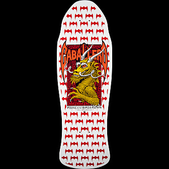 Powell Peralta Caballero Street Skateboard Deck White - 9.625 x 29.75