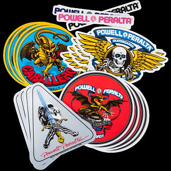 Powell Peralta Assorted Stickers (20 pack)