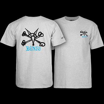 Powell Peralta Vato Rat Youth T-shirt - Gray