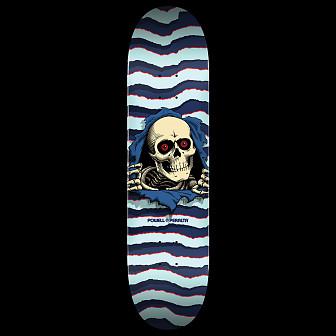 Powell Peralta Ripper Skateboard Deck Blue - Shape 246 - 9 x 32.95