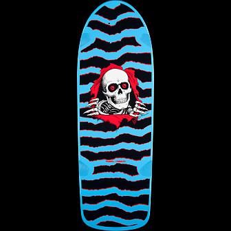 Powell Peralta OG RIpper 3 Skateboard Deck Blue- 10 x 31