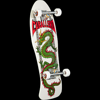 Powell Peralta Caballero Chinese Dragon Complete Assembly Bone White - 10 x 30