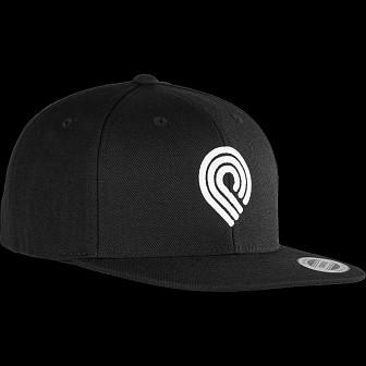 Powell Peralta Triple PP Snapback Cap Black