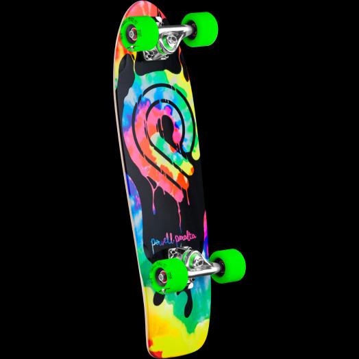 Powell Peralta PPP Tie Dye Cruiser 273 Skateboard Assembly - 7.35 x 25