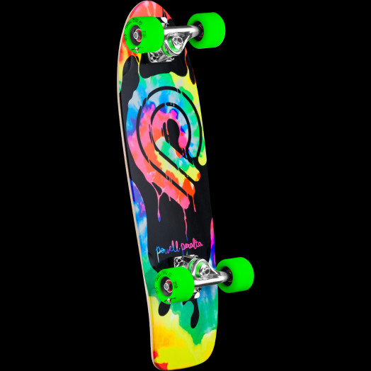 Powell Peralta PPP Tie Dye Cruiser 274 Skateboard Assembly - 8.24 x 25.38