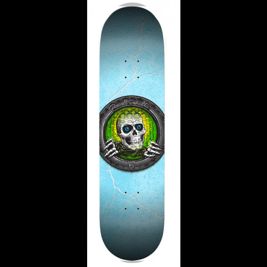 Powell Peraltav Green Pool Light Ripper Skateboard Deck - 8.5 x 33.5
