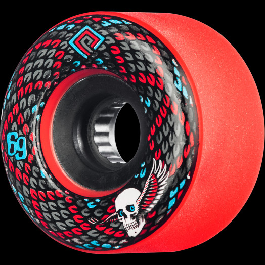Powell Peralta Snakes 69mm 75a 4pk Red