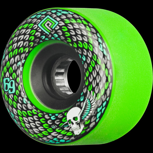 Powell Peralta Snakes 69mm 75a 4pk Green