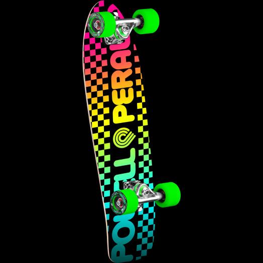 Powell Peralta Checker Cruiser 275 Skateboard Assembly - 8.62 x 27.88