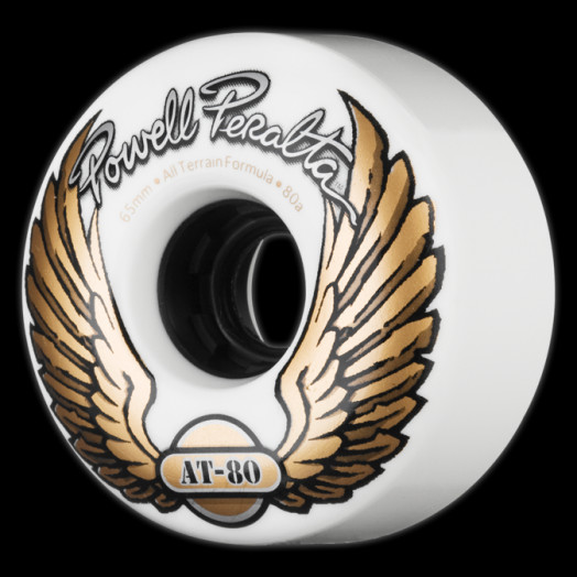 Powell Peralta AT-80 65mm 80a - White (4 pack)