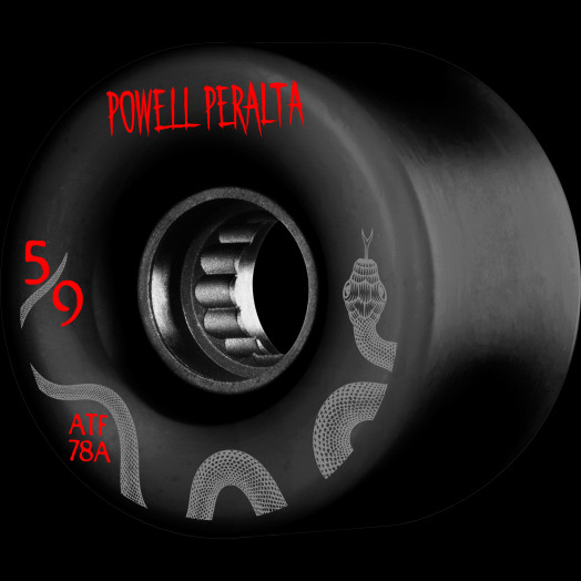 Powell Peralta ATF 59mm 78A Wheel Black