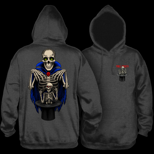 Powell Peralta Pro Blair Magician Hooded Sweatshirt Charcoal