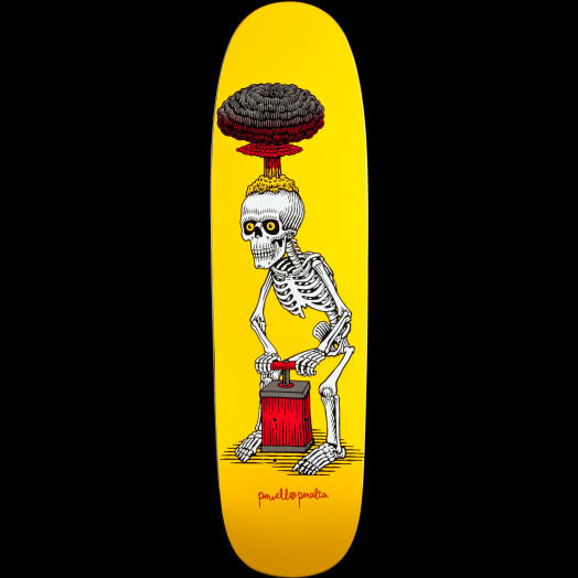 Powell Peralta Slappy Explode Skateboard Deck - 8.5 x 30.5