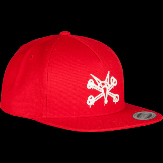 Powell Peralta Vato Rat Snap Back Cap Red