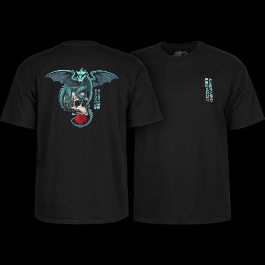 Powell Peralta T-shirt Dragon Skull Black