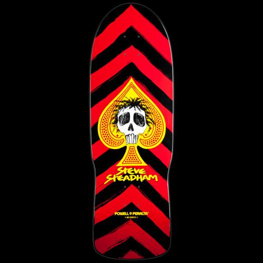 Powell Peralta Steadham Spade Skateboard Deck Red - 10 x 30.125