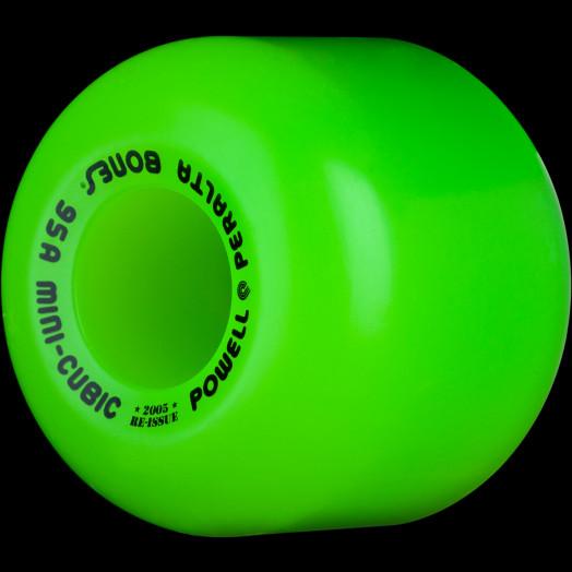 Powell Peralta Mini-Cubic 64mm 95a - Green (4 pack)