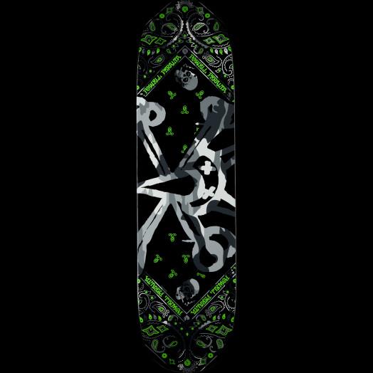Powell Peralta Vato Rat Band Grey Skateboard Deck - 8.5 x 31.8