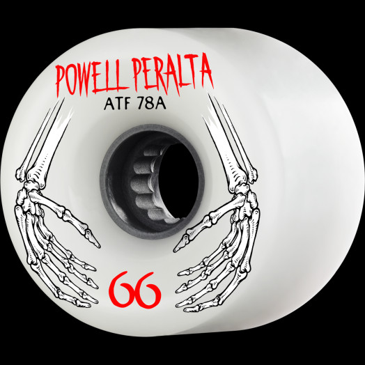 Powell Peralta ATF 66mm 78A Wheel White
