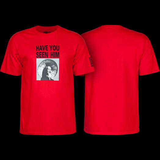 Powell Peralta Animal Chin Red T-shirt