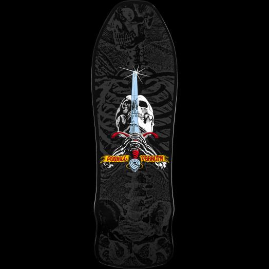 Powell Peralta Gee Gah Skull and Sword Skateboard Deck - 9.75 x 30
