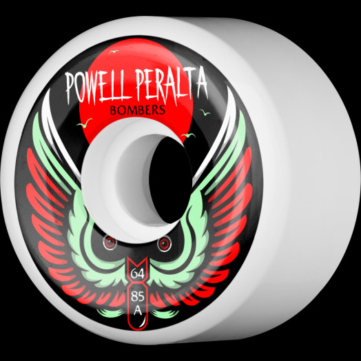 Powell Peralta Bomber Wheel 3 64mm 85a 4pk