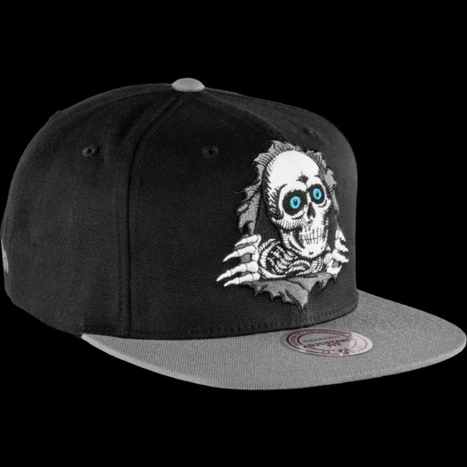 Powell Peralta Mitchell & Ness Ripper Cap Blue eyes
