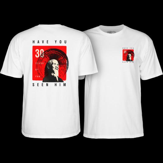Powell Peralta Animal Chin 30 yrs. White T-shirt