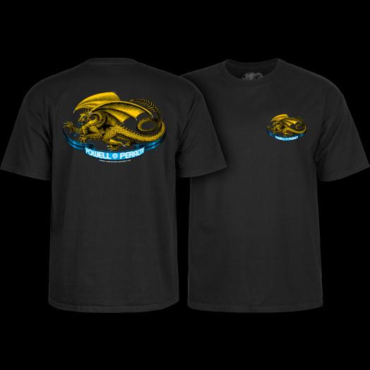 Powell Peralta Oval Dragon Black T-shirt