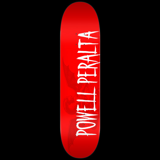 Powell Peralta LIGAMENT Logo Skateboard Deck Red - 8 x 32.125