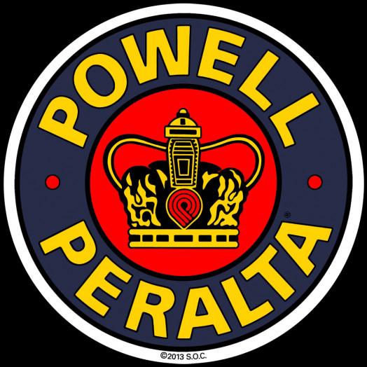 Powell Peralta Supreme 2 inch Sticker single