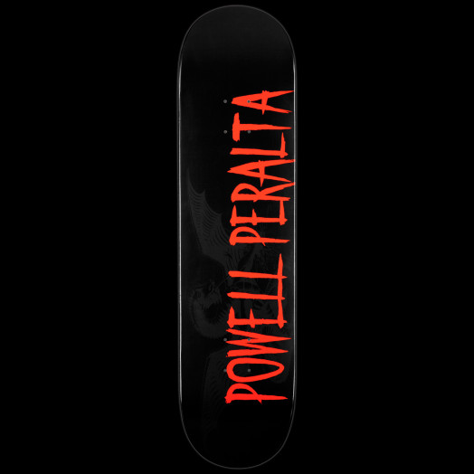 Powell Peralta LIGAMENT Logo Skateboard Deck Black - 8.25 x 32.5