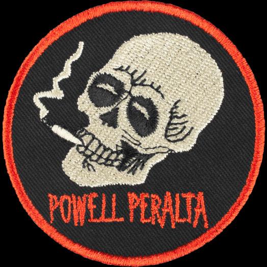 Powell Peralta Smoking Skull Patch Single