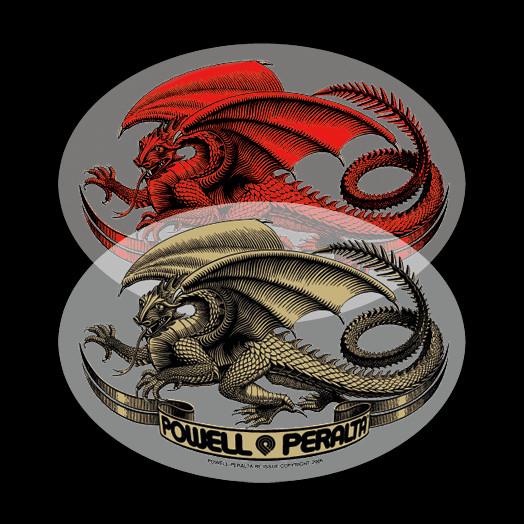 Powell Peralta Oval Dragon Sticker (Single)