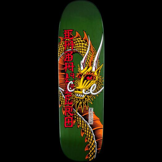 Powell Peralta Pro Caballero Ban This Dragon Skateboard Deck Green - 9.265 x 32