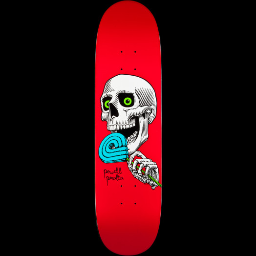 Powell Peralta Lolly P Red Skateboard Deck - 8.125 x 31.25