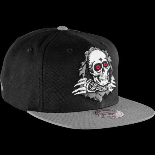 Powell Peralta Ripper Mitchell & Ness Cap - Black/Gray