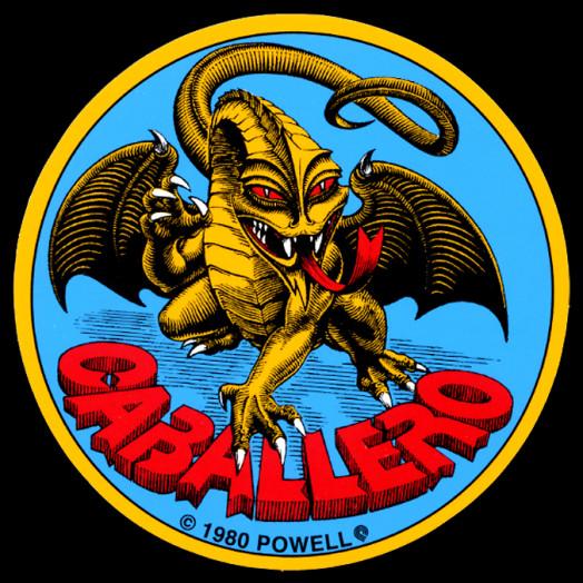 Bones Brigade Cab Original Dragon Sticker (Single)