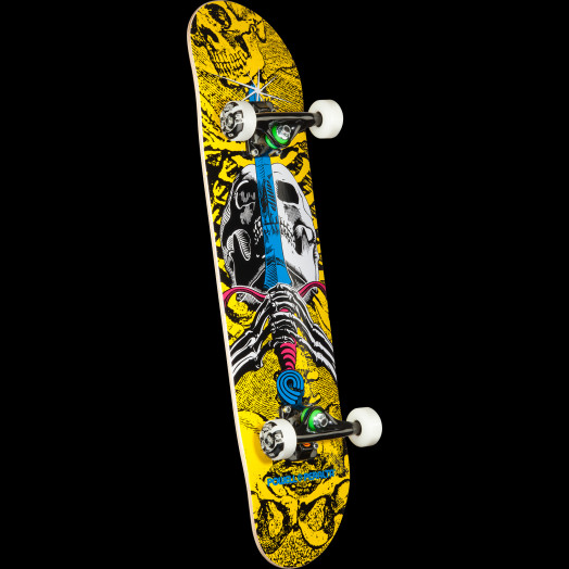 Powell Peralta Skull and Sword CMYK Assembly - 7.5 x 31.375